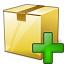 Box Closed Add Icon 64x64