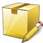 Box Closed Edit Icon 64x64