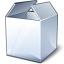 Box White Icon 64x64