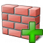 Brickwall Add Icon 64x64