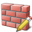 Brickwall Edit Icon 64x64