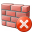 Brickwall Error Icon 64x64