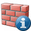 Brickwall Information Icon 64x64