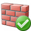 Brickwall Ok Icon 64x64