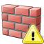 Brickwall Warning Icon 64x64