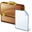Briefcase 2 Document Icon 64x64