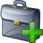 Briefcase Add Icon 64x64