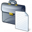 Briefcase Document Icon 64x64