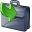 Briefcase Into Icon 64x64