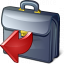 Briefcase Out Icon 64x64