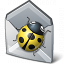Bug Mail Icon 64x64
