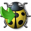 Bug Yellow Into Icon 64x64