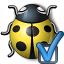 Bug Yellow Preferences Icon 64x64