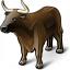Bull Icon 64x64
