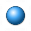 Bullet Ball Blue Icon 64x64