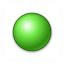 Bullet Ball Green Icon 64x64