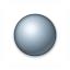Bullet Ball Grey Icon 64x64