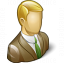 Businessman 3 Icon 64x64