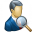 Businessman View Icon 64x64
