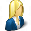 Businesswoman Icon 64x64