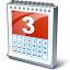 Calendar 3 Icon 64x64