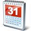 Calendar 31 Icon 64x64