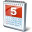 Calendar 5 Icon 64x64