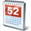 Calendar 52 Icon 64x64