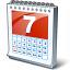 Calendar 7 Icon 64x64