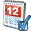 Calendar Preferences Icon 64x64