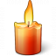 Candle Icon 64x64