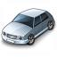 Car Compact Grey Icon 64x64