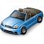 Car Convertible Blue Icon 64x64