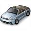 Car Convertible Grey Icon 64x64