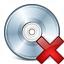 Cd Delete Icon 64x64