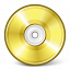 Cd Gold Icon 64x64