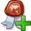 Certificate Add Icon 64x64