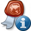 Certificate Information Icon 64x64