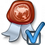 Certificate Preferences Icon 64x64