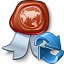 Certificate Refresh Icon 64x64