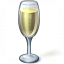 Champagne Glass Icon 64x64