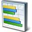 Chart Bar Icon 64x64