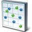 Chart Dot Icon 64x64