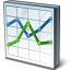 Chart Line Icon 64x64