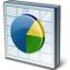 Chart Pie Icon 64x64