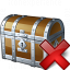 Chest Delete Icon 64x64