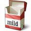 Cigarette Packet Empty Icon 64x64
