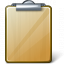 Clipboard Empty Icon 64x64