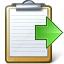 Clipboard Next Icon 64x64