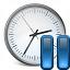 Clock Pause Icon 64x64